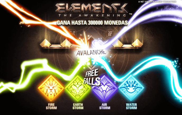 elements tragaperras online