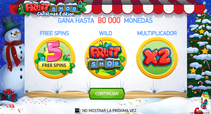 fruit shop tragaperras online