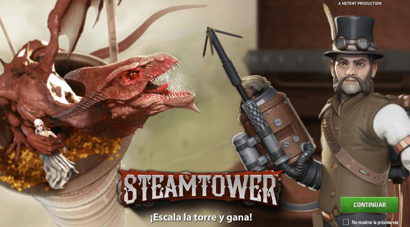 steamtower tragaperras online