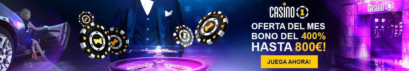 Casino 1 Tragaperras Cabezera