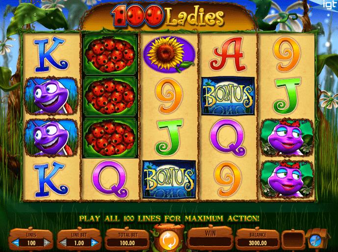 slot online 100 ladies