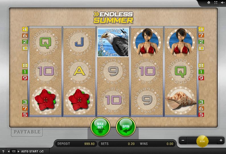 juego de slot endless summer