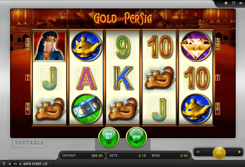 juego tragaperras gold of persia