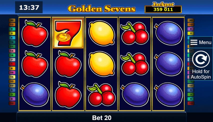 juego de tragaperras golden sevens online
