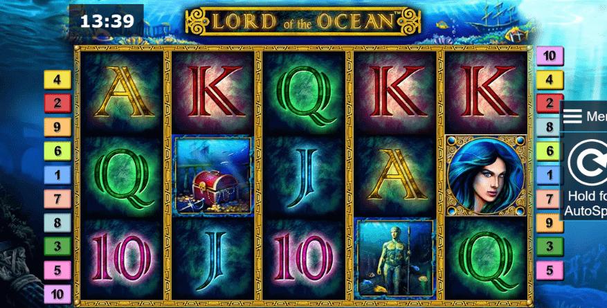 tragaperras lord of the ocean en casinos online