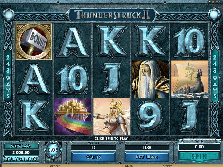 juego de tragaperras online thunderstruck 2