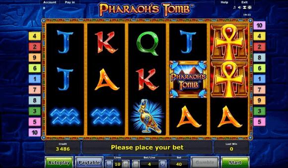 tragamonedas online pharaohs tomb