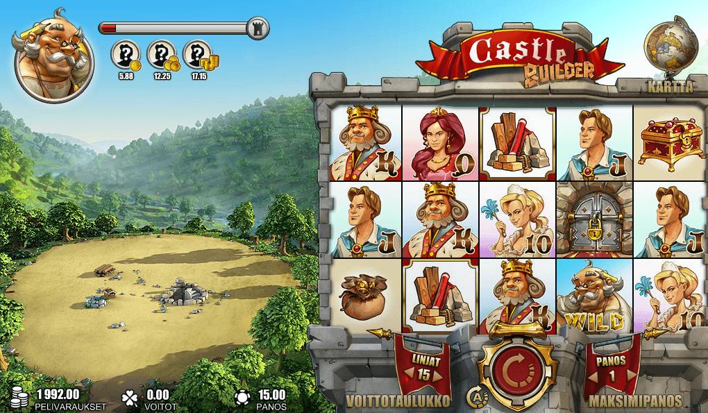 tragaperras 3d juego castle builder