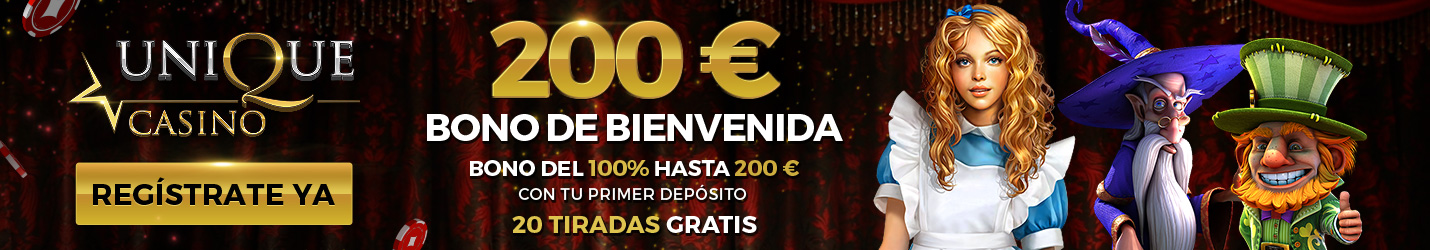 Unique Casino Tragaperras Online Cabezera