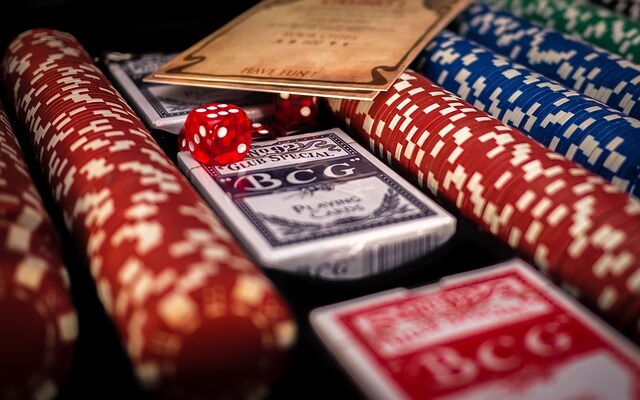 cartas fichas blackjack