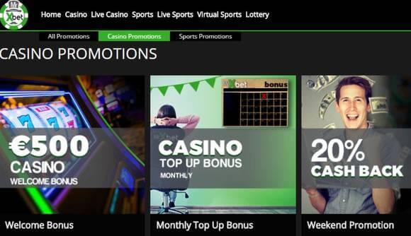 Casino MrXbet Bonificacion recarga mensual