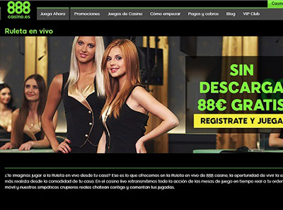 888 casino ruleta en vivo