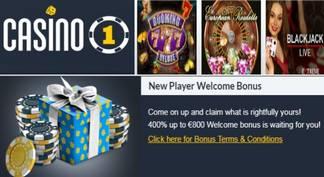 Casino 1 bonos de bienvenida