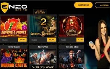 Enzzo Casino Giros gratis