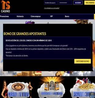 Reciba hasta 25% adicional por primeros depósitos de 500 euros en Casino Times Square
