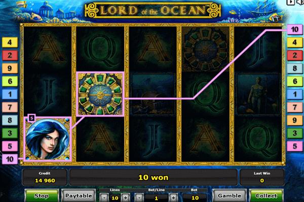 tragamonedas Lord of the Ocean