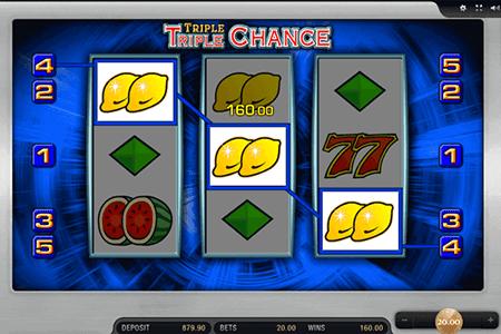 tragamonedas Triple Triple Chance