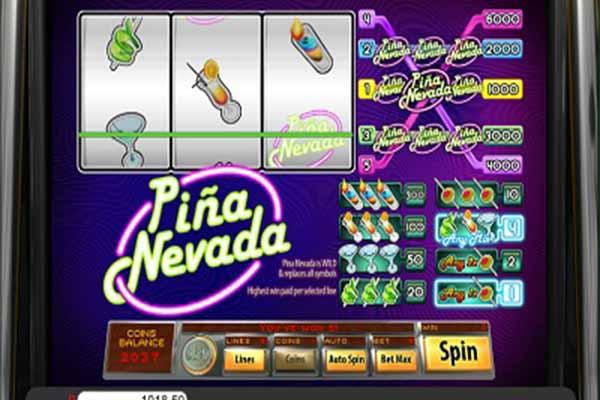 tragaperras Piña Nevada