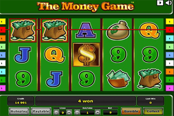 Tragaperras The Money Game