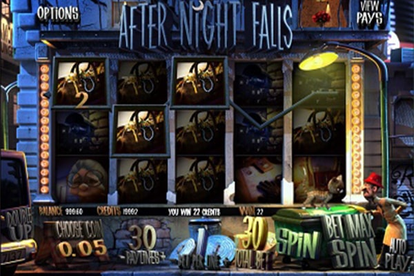 After Night Falls tragamonedas