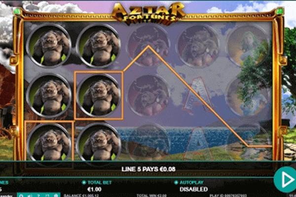 Aztar Fortunes tragamonedas