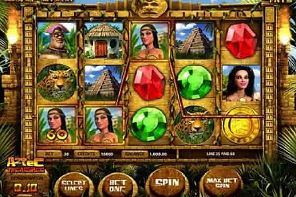 Aztec Treasures tragamonedas