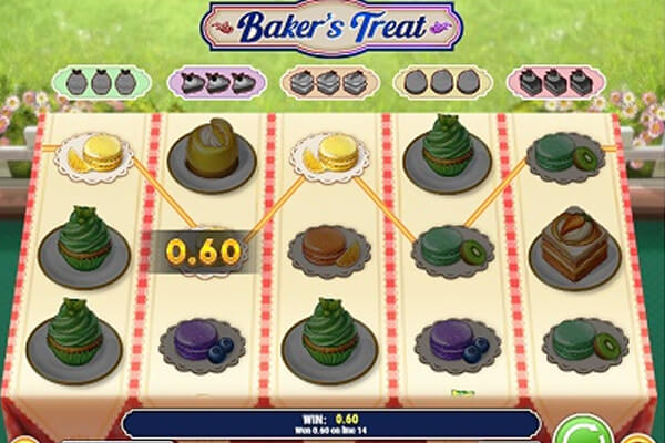 Baker's Treat tragamonedas