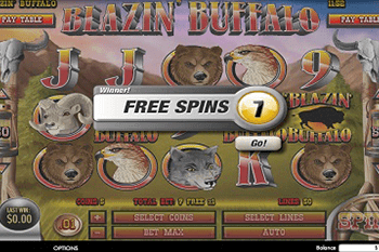 Blazin' Buffalo tragamonedas