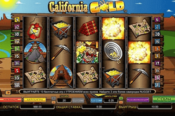 California Gold tragamonedas