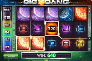 Big Bang tragamonedas