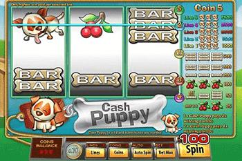 Cash Puppy tragamonedas