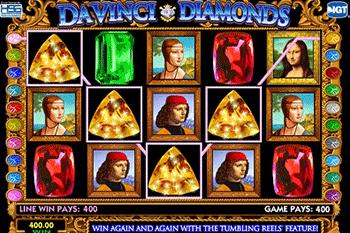 Da Vinci Diamonds tragamonedas