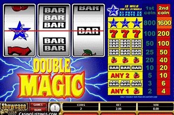 Double Magic tragamonedas