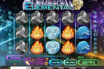 tragaperras Elemental 7