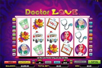 Tragaperras Doctor Love
