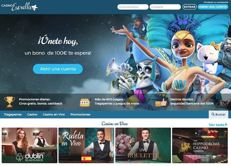 casino estrella homepage