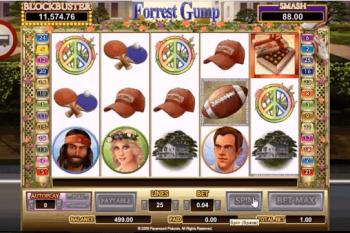 Tragaperras Forrest Gump