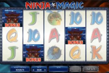 Tragaperras Ninja Magic