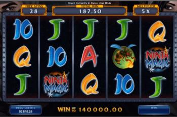 Slot Ninja Magic