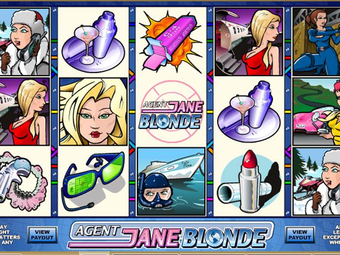 agent jane blonde iframe