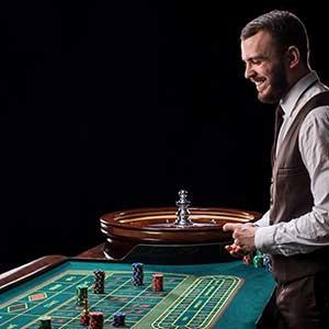 crupier casino en vivo