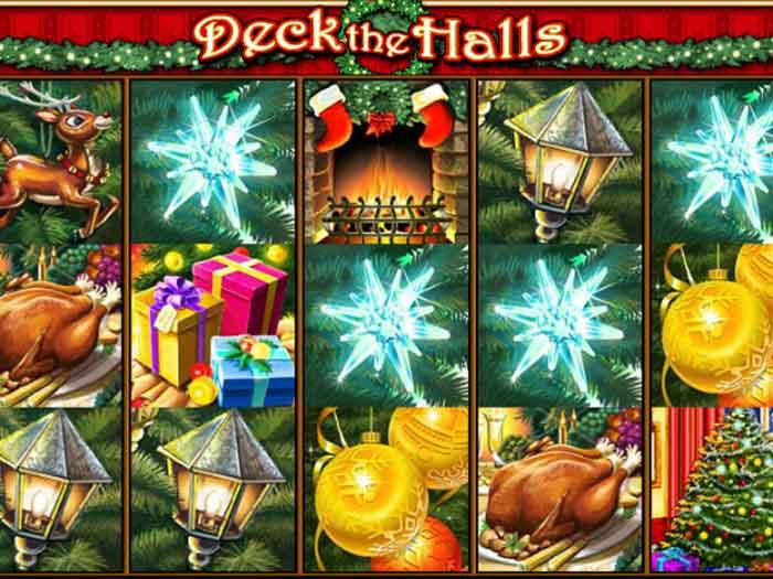 deck the halls iframe