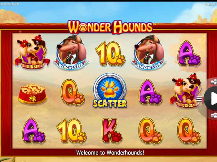wonder hounds iframe