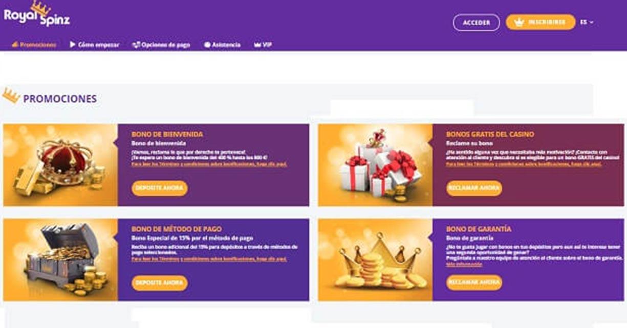 royal spinz casino online