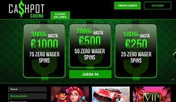 Cashpot casino online españa