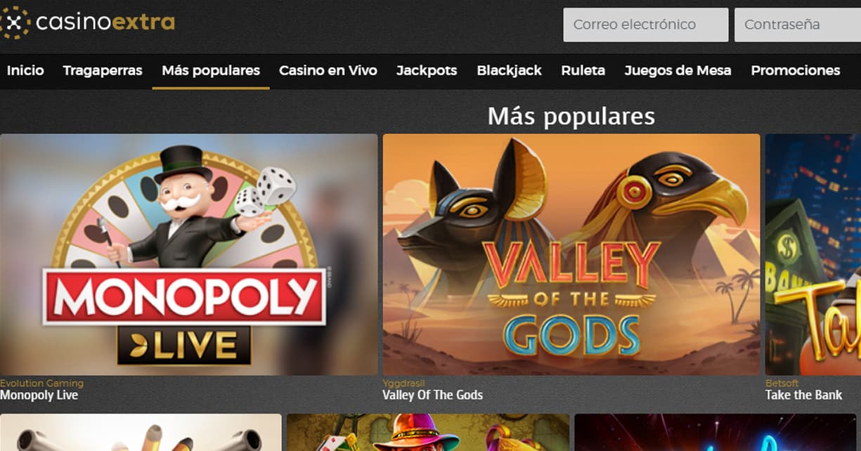casino extra online