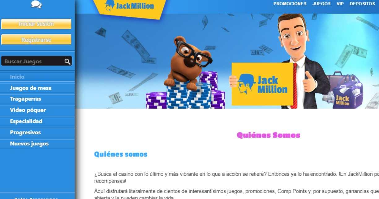 jackmillion casino online