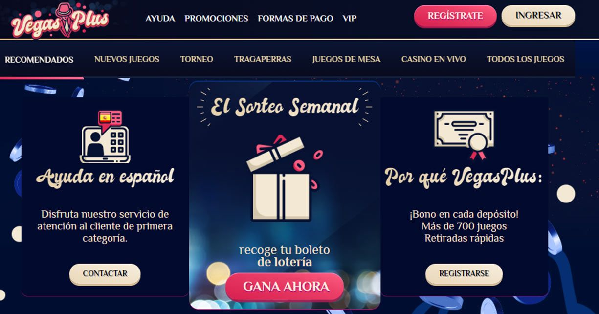 vegasplus casino online