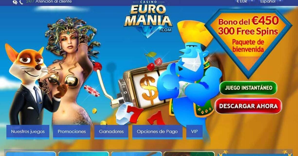 euromania casino online