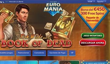 euromania casino bono